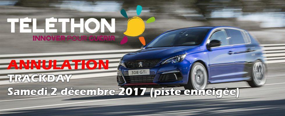 Circuit auto – Téléthon 2017
